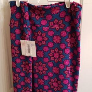 Lularoe Cassie Floral Skirt 2XL NEW